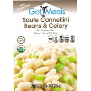 6 pouches of Prepared Saute Cannellini B...
