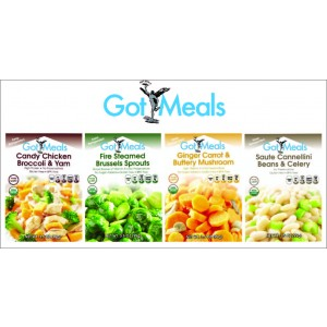 Student Pack - 8 Pouches of GotMeals...