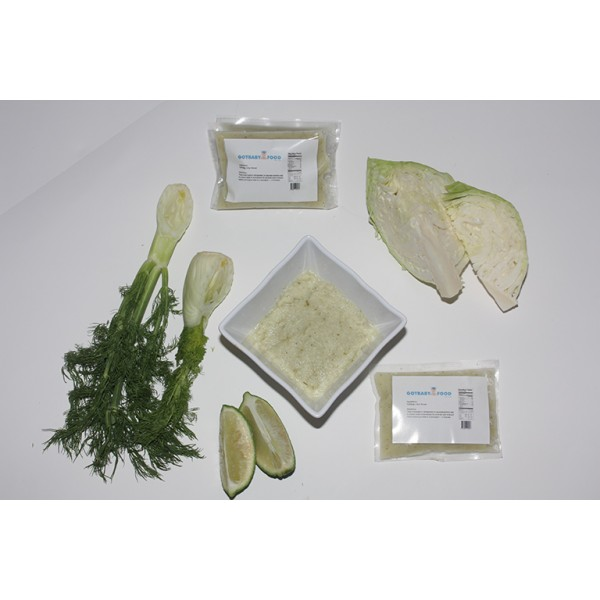 Cabbage, Lime, Fennel Baby Food