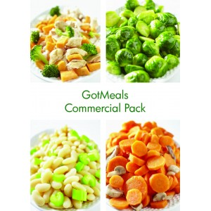 GotMeals Commercial Pack - 100 pouches O...