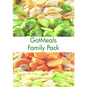 GotMeals Family Pack - 30 pouches of our...